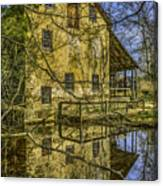 Batsto Gristmill Reflection Canvas Print