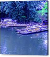 Batteaux At Cartersville Landing 1095t Canvas Print