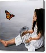 Batterfly Canvas Print
