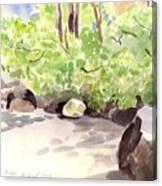 Battery Park City Cove Canvas Print