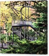 Battery Park Fall Colors  Canvas Print