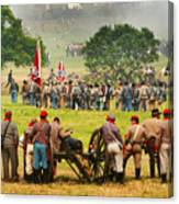 Battle Lines Forming Canvas Print