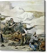 Battle Of Beecher's Island Canvas Print