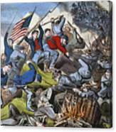 Battle Of Chattanooga 1863 Canvas Print