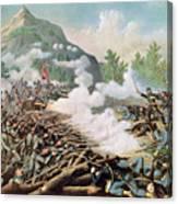 Battle Of Kenesaw Mountain Georgia 27th June 1864 Canvas Print