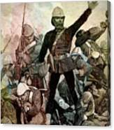 Battle Of Majuba Mountain  Canvas Print