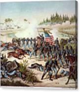 Battle Of Olustee, 1864 Canvas Print