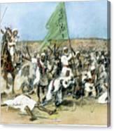 Battle Of Omdurman 1898 Canvas Print