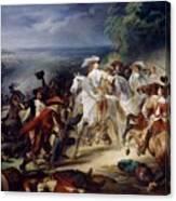 Battle Of Rocroy Canvas Print