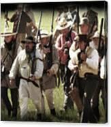 Battle Of San Jacinto Canvas Print