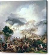 Battle Of Somo Sierra Canvas Print