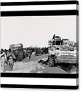 Battle Of Stalingrad 1943 Color Added 2016 Canvas Print