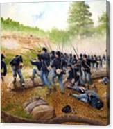 Battle Of Utoy Creek Canvas Print
