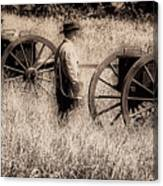Battle Ready - Gettysburg Canvas Print
