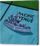 Battle Ship Canvas Print