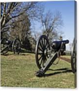 Battlefield At Fredericksburg Canvas Print