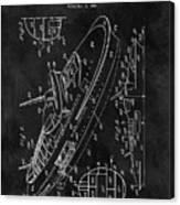 Battleship Patent Canvas Print