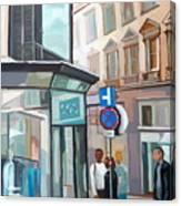 Bauernmarkt 2a Wien Canvas Print