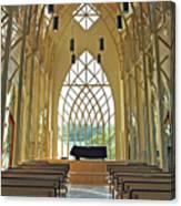 Baughman Meditation Center - Inside Rear Canvas Print