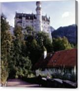 Bavarian Castle Canvas Print