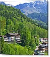 Bavarian Mountainside Canvas Print