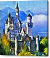 Bavaria's Neuschwanstein Castle Canvas Print