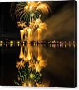 Bay City Fireworks - 2017 - 7 Canvas Print