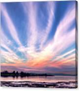 Bay Farm Island Sunrise Canvas Print