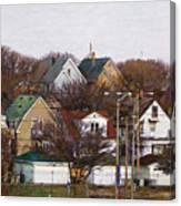 Bay View Neighborhood Canvas Print