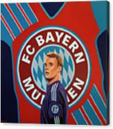 Bayern Munchen Painting Canvas Print