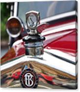 Bayliss Thomas Badge And Hood Ornament Canvas Print