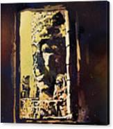 Bayon IIi- Cambodian Ruins, Angkor Wat Canvas Print