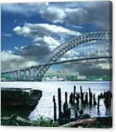 Bayonne Bridge Canvas Print