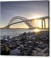 Bayonne Bridge Sunset Canvas Print