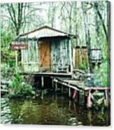 Bayou Cabin Canvas Print