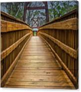 Bayou Foot Bridge Canvas Print