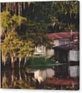 Bayou Shack Canvas Print