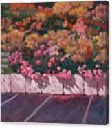Bayside Flowers Canvas Print