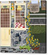 Bayside Inn And Tavern In Ireland Canvas Print
