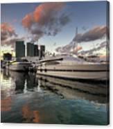 Bayside Sunset Canvas Print