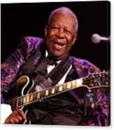Bb King 2008 Canvas Print