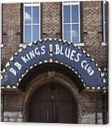 B.b. King's Blues Club Canvas Print