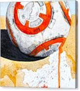 BB8 Canvas Print