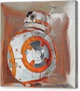 Bb8 In A Box Canvas Print