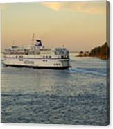 Bc Ferry Canvas Print