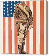 Be A U.s. Marine Canvas Print