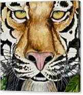 Be Like A Tiger Canvas Print