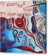 Be Ur Reality Canvas Print