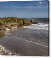 Beach At Tybee Canvas Print