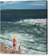 Beach Babes II Canvas Print